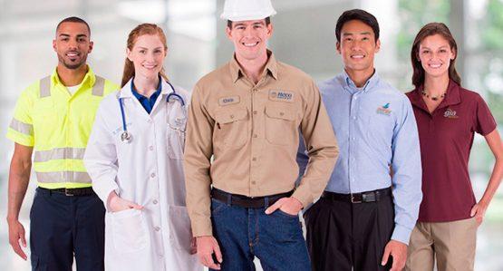 Fabricación de uniformes para empresas
